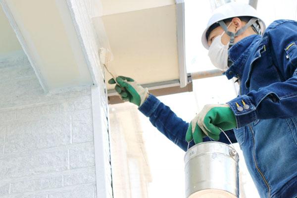 外枠の塗り替えと補修によって耐久性がアップ!